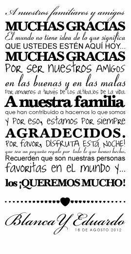 Muchas gracias                                                                                                                                                                                 Más