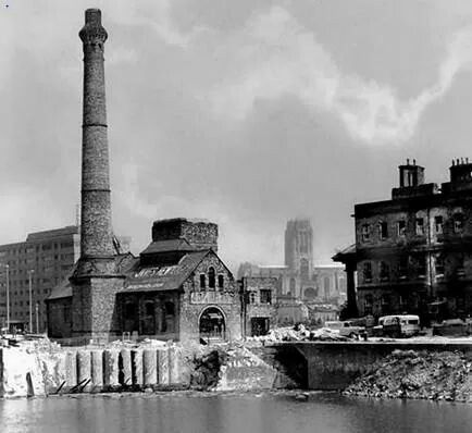 Albert Dock 1983-what a diffrence!