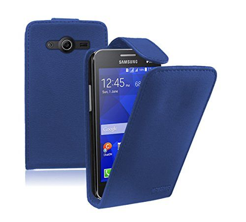Membrane - Blue Leather Vertical Case for Samsung Galaxy Core II (SM-G355H / Galaxy Core 2 Dual Sim / G3556D / G3559 / Duos / G3558) - Flip Phone Cover Membrane http://www.amazon.com/dp/B00MTUZ6HQ/ref=cm_sw_r_pi_dp_RDfJub0Y1J8SG