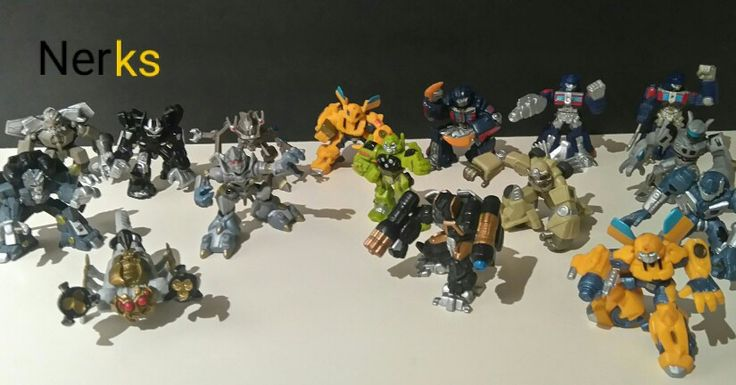 Transformers Robot Heroes Movie Series 2007 Hasbro, lot of 16 $50.00 CDN +ship. Or $4 each, Scorponok $7.