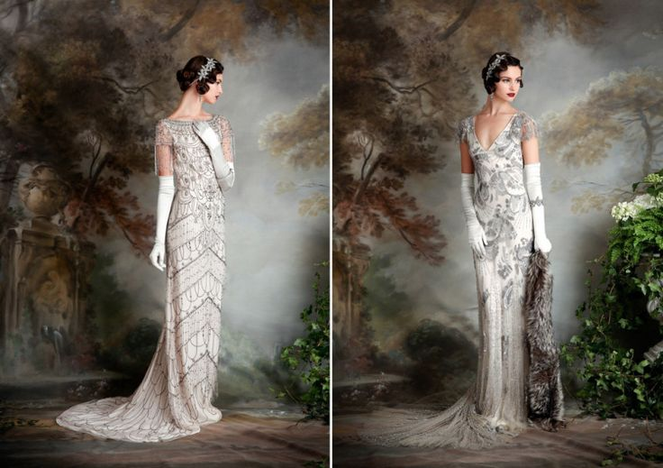 17 Best Ideas About 1920s Wedding Dresses On Pinterest