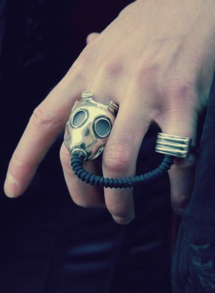 Oh yes!!!: Cool Rings, Gas Masks, Style, Doctorwho, Doctors Who, Fashion Rings, Jewelry, Steampunk, Masks Rings
