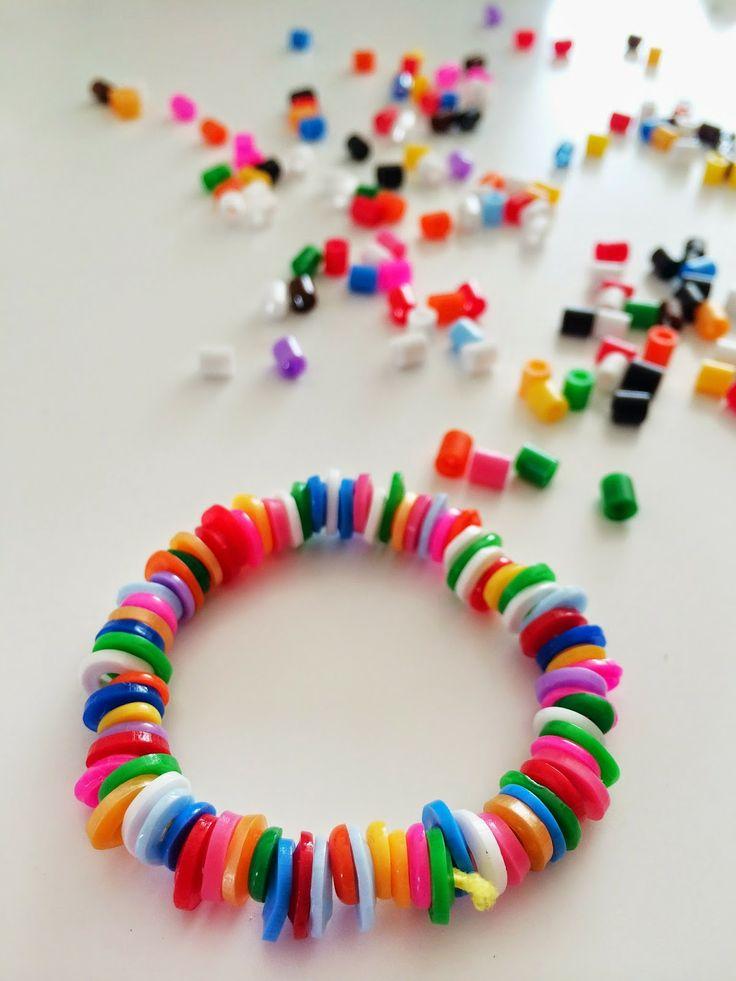 molten HAMA beads bracelet