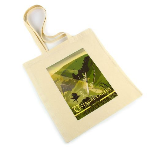 Exclusive to English Heritage, this Tintagel Sword in the Stone Tote Bag makes a great gift or souvenir. Buy online from the English Heritage online gift shop.