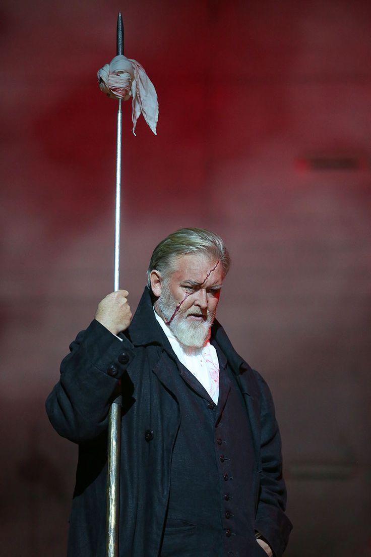 "Jay Hunter Morris as Captain Ahab in ""Moby-Dick"""
