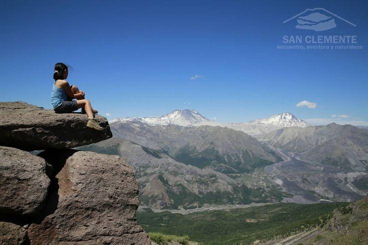 #TurismoSanClemente   ENLADRILLADO 🌄    Atractivo natural más famoso de laReserva Nacional Altos de Lircay.