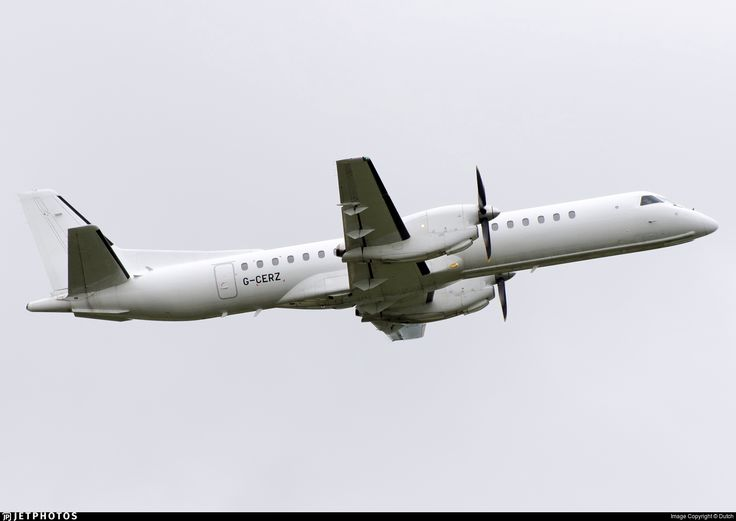 Photo of G-CERZ - Saab 2000 - Eastern Airways