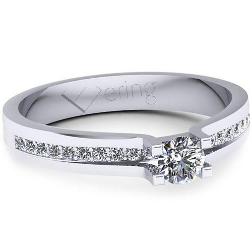 Inel logodna L134ADI cu diamante