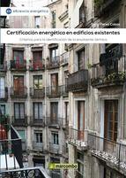 Certificación energética de edificios existentes.