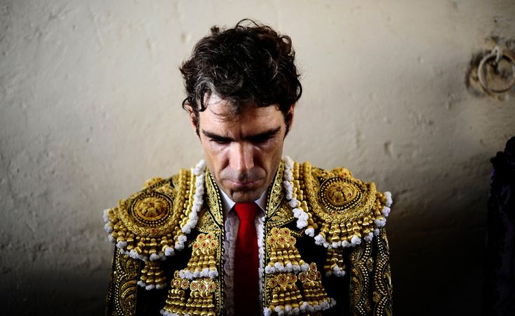 Spanish bullfighter Jose Tomas waited to perform at the Monumental  bullring in Barcelona. Spain's Catalonia bid farewell to the  country's emblematic tradition of bullfighting with a final bash at the  Barcelona bullring.