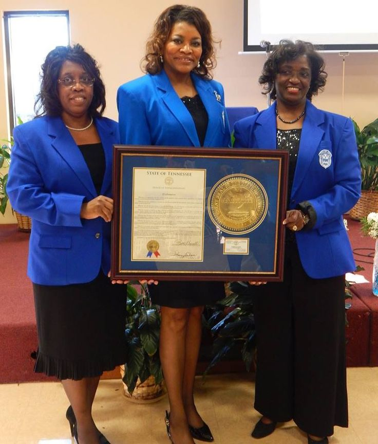 Zeta Phi Beta Sorority, Inc. - State of Tennessee salutes Mu Zeta Zeta Chapter as they celebrate 35 Years of Service!! President Joyce Murphy, State Director Donna R. Williams & Charter Member Dr.Yvonne A. Allen with a proclamation from Rep. Shaw. — with Joyce Jackson Murphy, Mu Zeta Zeta and Donna Tall Dove Williams.