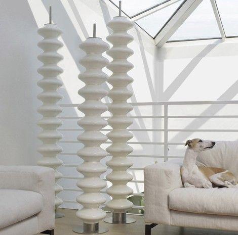 These towers are radiators!: Tubes Radiotori