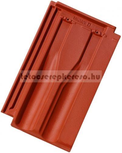 Tondach Tangó+ engóbozott piros tetőcserép akciós áron a tetocserepkereso.hu ajánlatában