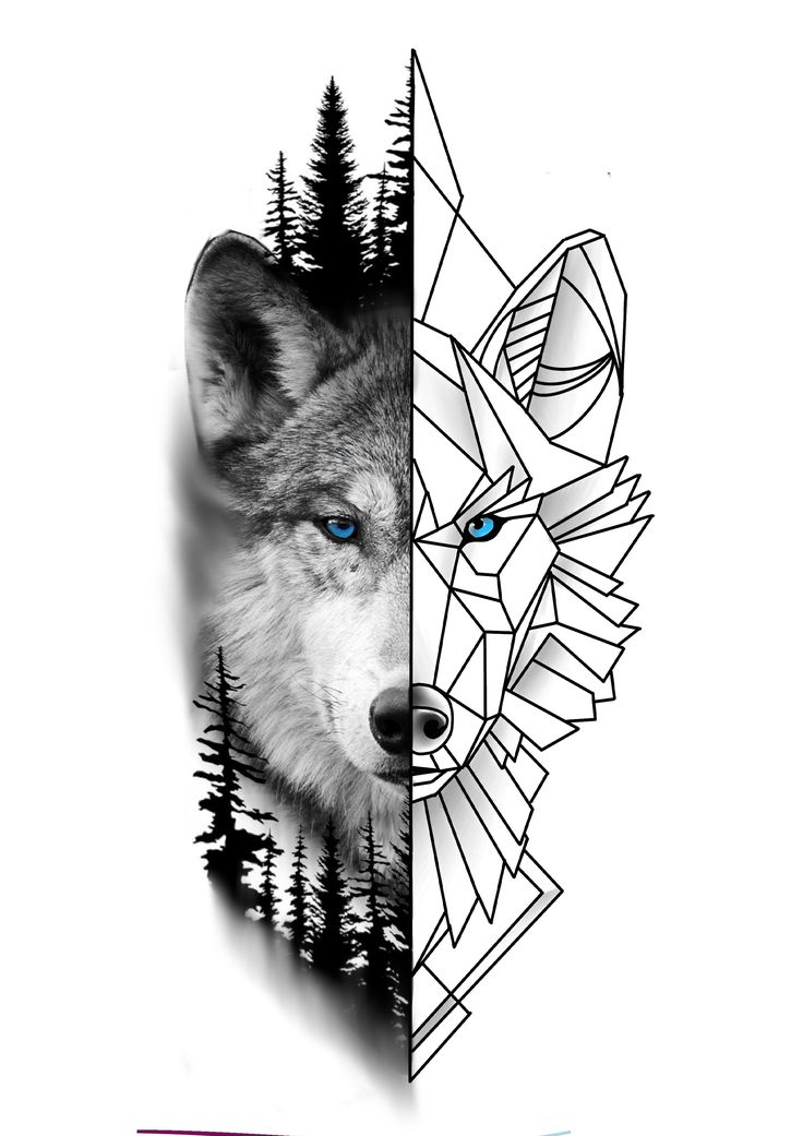 Animal Tattoos, Wolf Tattoos, Back Tattoos, Lion Tattoo, Tattoo Sketches, Black And Grey, Mandala, Bird, Wolves