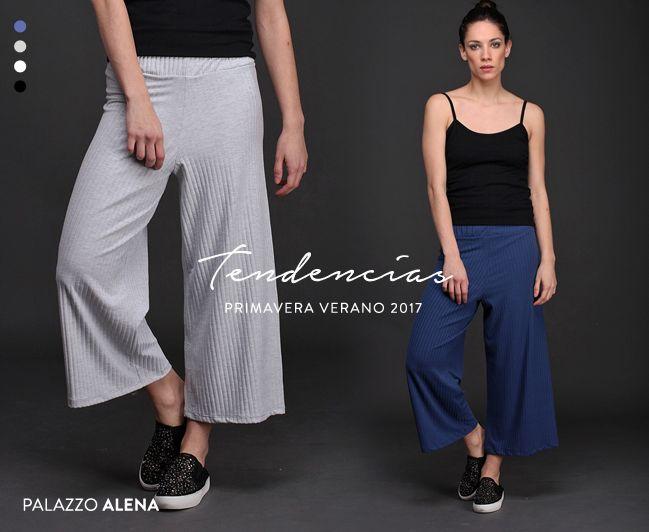 ¡Nuevo Palazzo Alena! Realizado en morley, con cintura elastizada y piernas anchas que llegan hasta el tobillo. Esta prenda de alta tendencia es fresca y versátil. ¡Mirá los 4 colores disponibles!