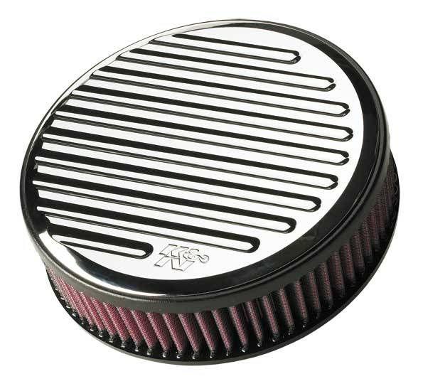 K&N HARLEY-DAVIDSON RK SERIES BILLET Air Cleaner Assemblies. *Sportster 1200cc 1991-97**ROUND BALL GROOVED*