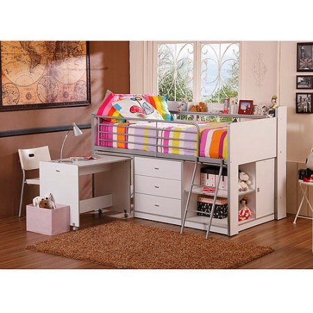 17 best ideas about bunk bed with desk on pinterest teen. Black Bedroom Furniture Sets. Home Design Ideas