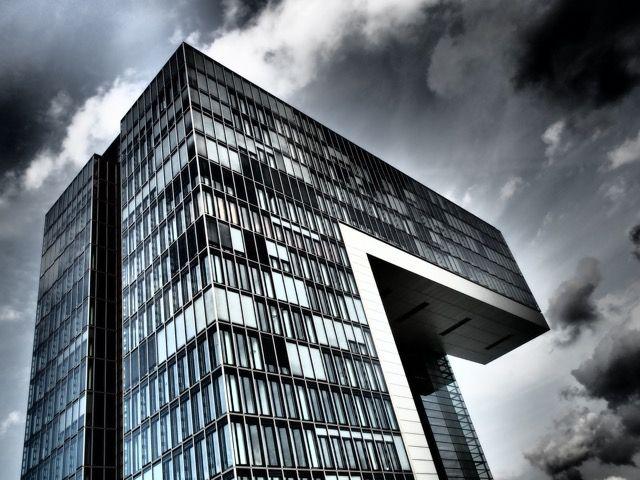 #Köln #Architektur #Fotografie #omdem1 #DramatischerFilter Dramatischer Filter #Hafen #Zollhafen