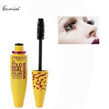 Nova Chegada Nova Marca Eye Mascara Escova De Silicone Longo Curling Cílios Preta Longa Rímel Olho Maquiagem À Prova D' Água Comprimento Da Extensão alishoppbrasil