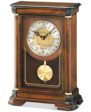 Seiko Wooden Mantel Clock - Brown