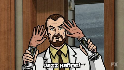 Kreiger and his Jazz Hands. #ArcherFX