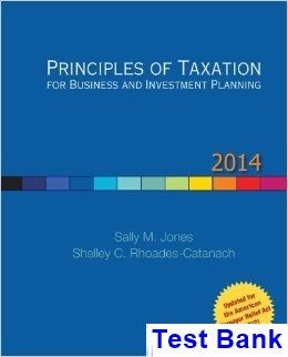 21 best testbank download images on pinterest manual textbook and principles of taxation for business and investment planning 14th edition jones test bank test bank fandeluxe Images
