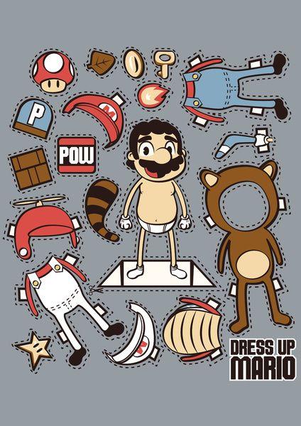Super Mario: Dress up Mario :)