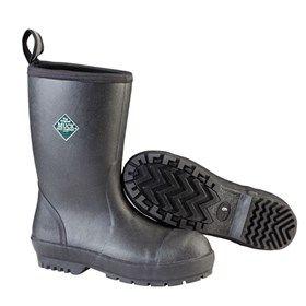 Muck Boots Mens Chore Resistant Mid Steel Toe Black is a huge step forward in Slip-Resistant footwear.