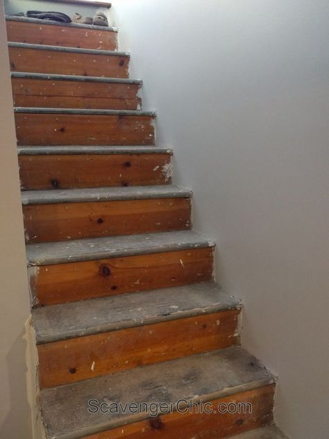 You have to see this stunning makeover! | diy home decor | diy stair tread installation | #homedecor | sponsored