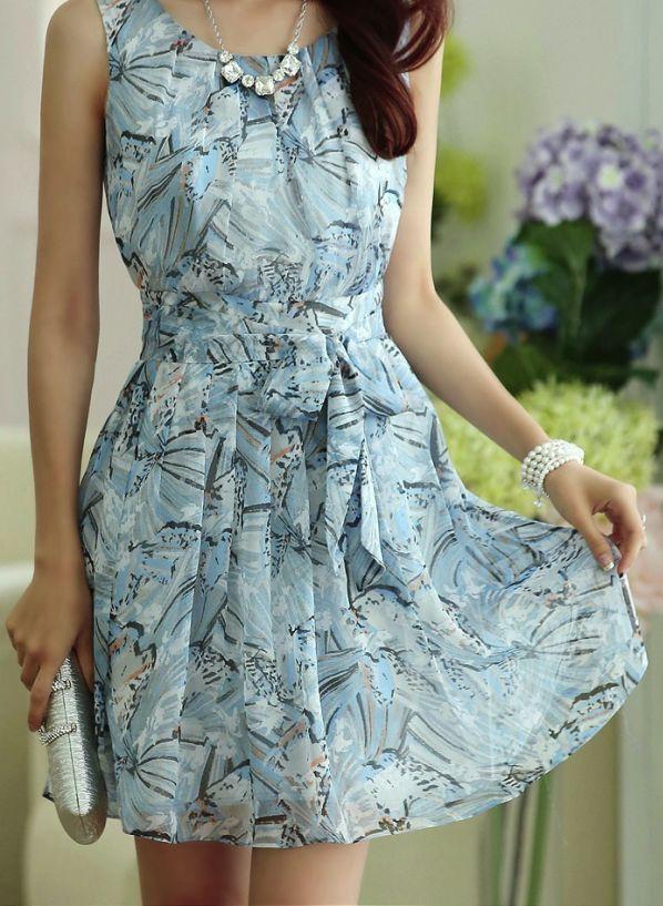 Blue Ocean Short Dress