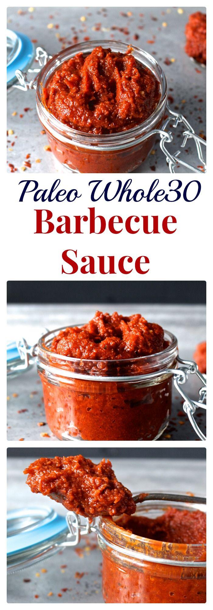 Paleo Whole30 Barbecue Sauce