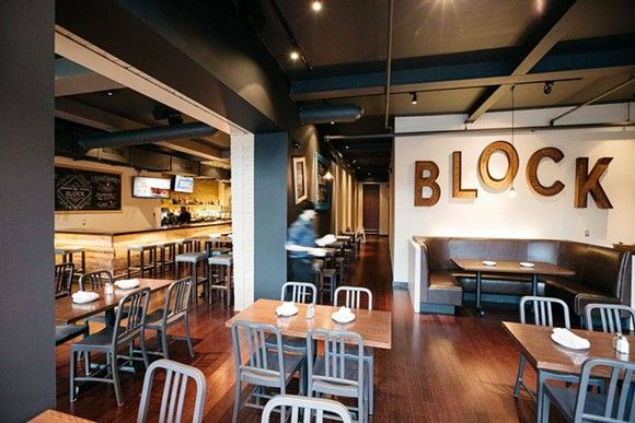 <b>The Block,</b> <i>3919 Woodward Ave.</i><br> This gastro pub-style establishment launched last fall under the ownership of George Stewart and Michael Byrd, who also own the Garden Theater. It's a more casual setting than its short-lived predecessor, Midtown Grille, with gourmet chicken wings, burgers, and other bar snacks among its menu offerings.