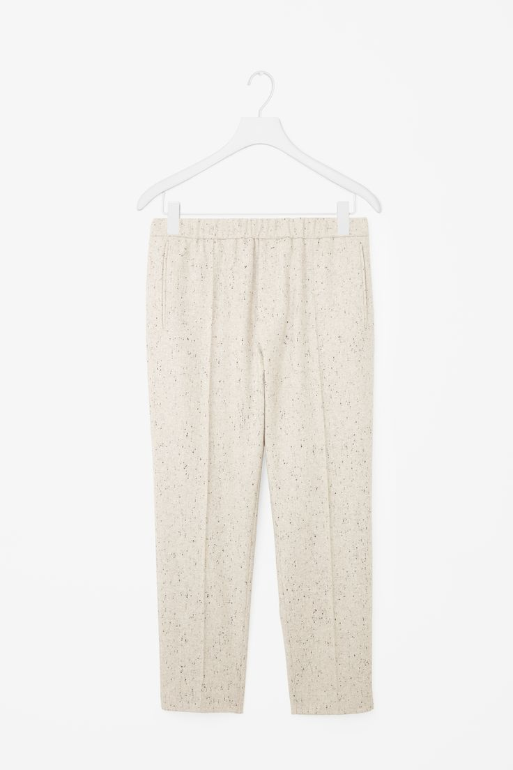 COS   Trousers with elastic waist