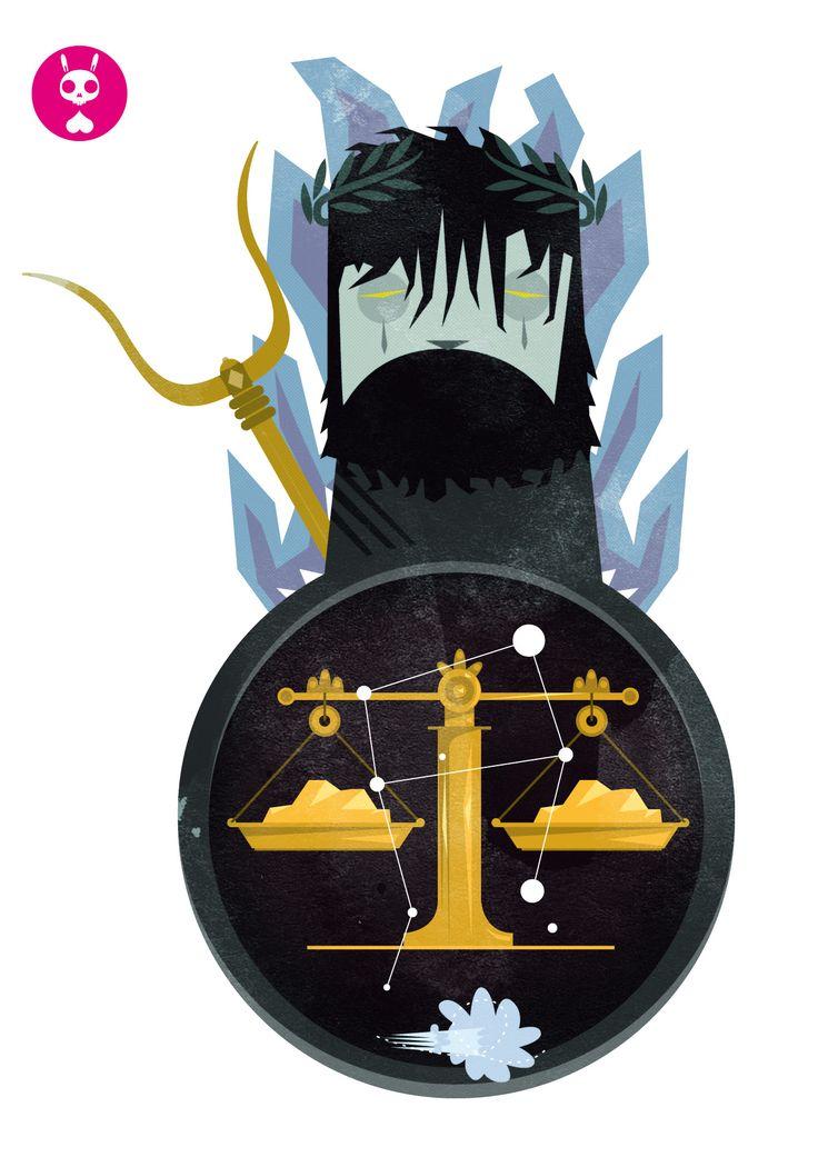 Libra (Hades y la balanza de las almas del inframundo)