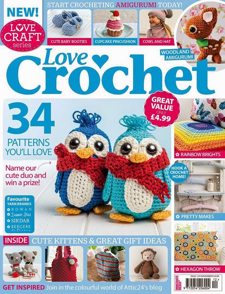 Amigurumi Craft Magazine : 16 best images about Books, magazines - love of crochet on ...