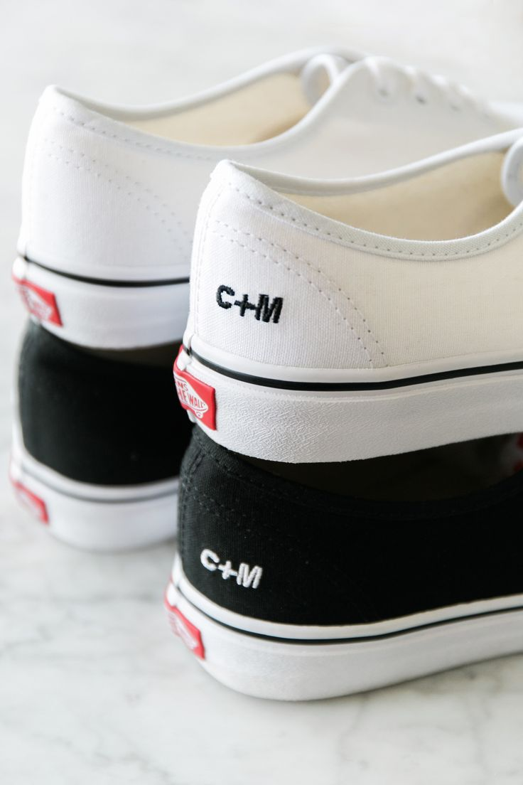 Wear your heart on your heels. Customize your Vans with embroidery at vans.com/customs.