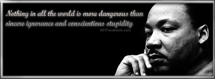 Nothing in the world is more dangerous than sincere