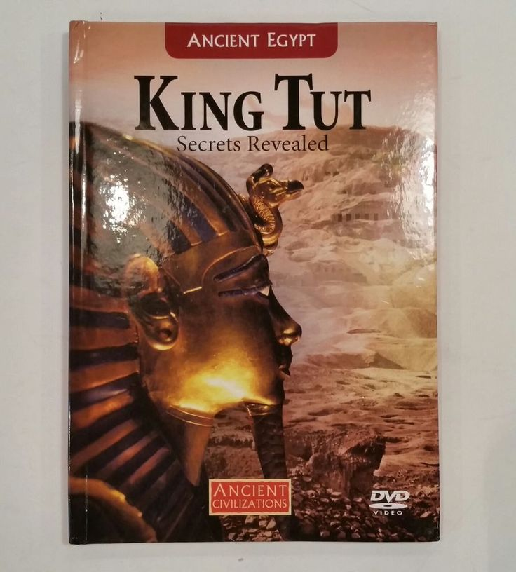 King Tut Secrets Revealed DVD Ancient Egypt Civilizations Book Tomb Documentary
