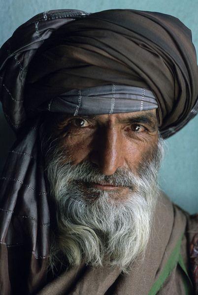 portrait of an afghan man
