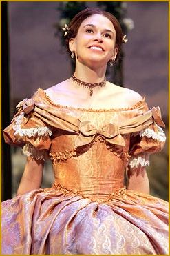 sutton foster as jo march in little women broadway musicals