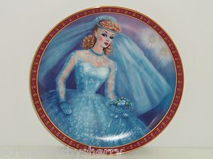 Danbury Mint High Fashion Barbie Plates Plates Danburi Barbie