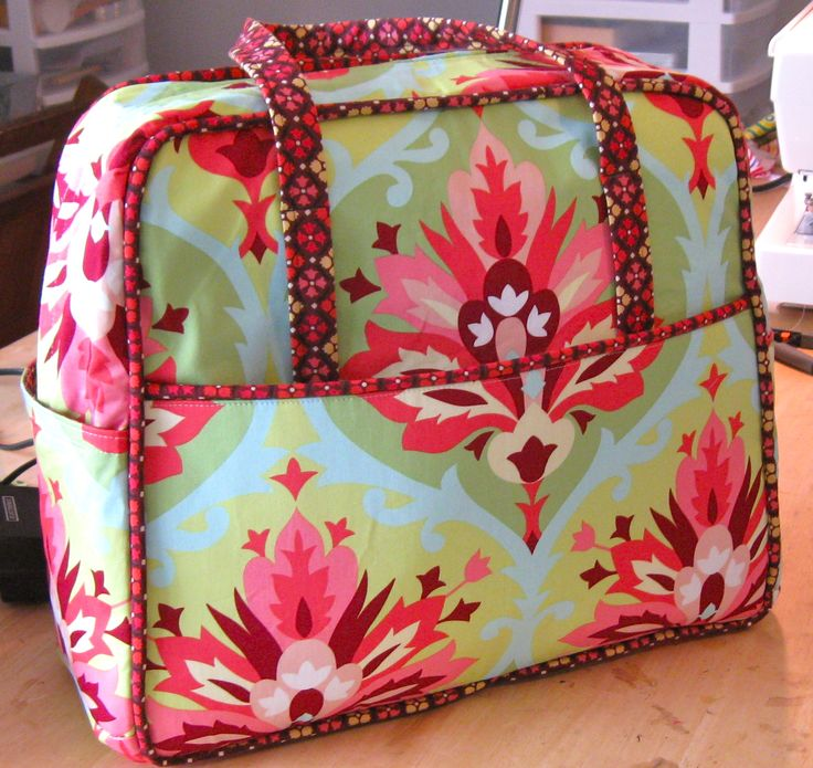 purse patterns for sewing | The Weekender Travel Bag Sewing Project is COMPLETE!!!