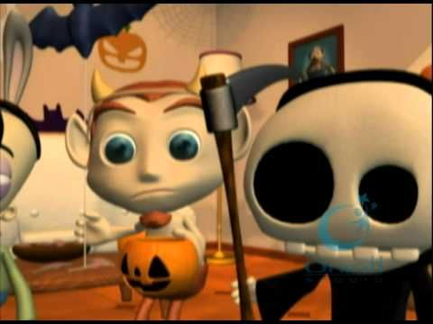 Even the dead get confused! El día de los muertos and Halloween. Kids need to know the difference! Check out this video.