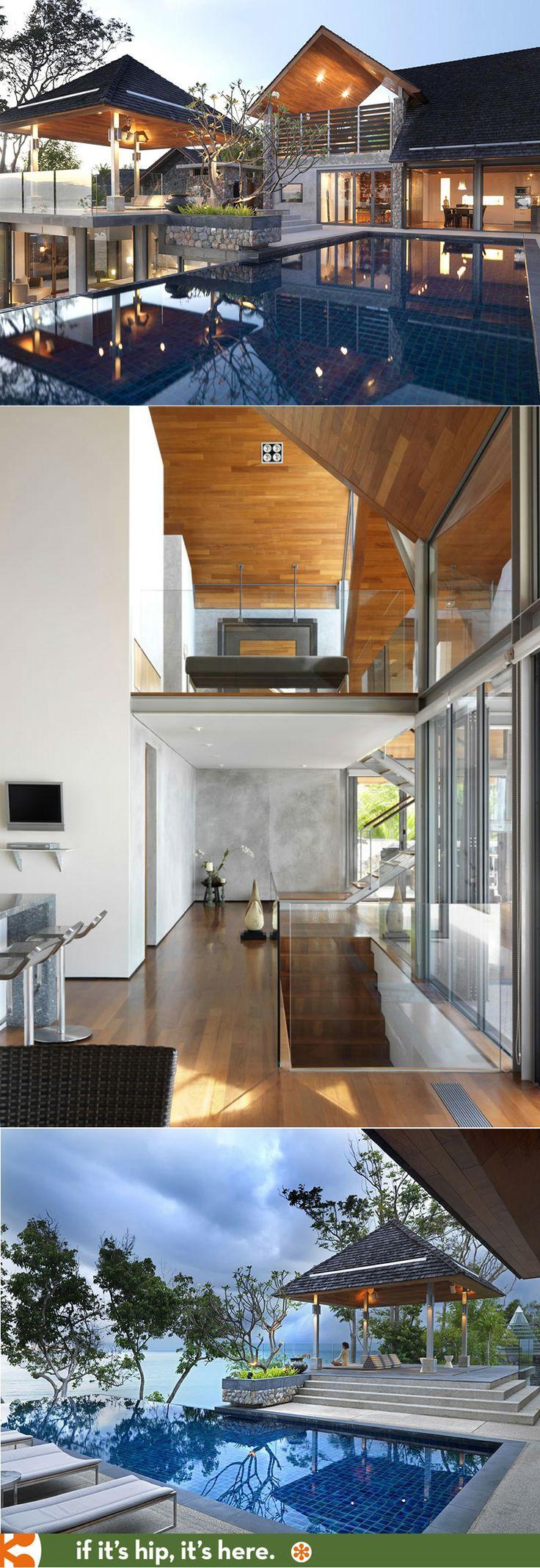 House design thailand - Stunning Private Villa Mixes Modern And Traditional Thai Design Architecture Phuket