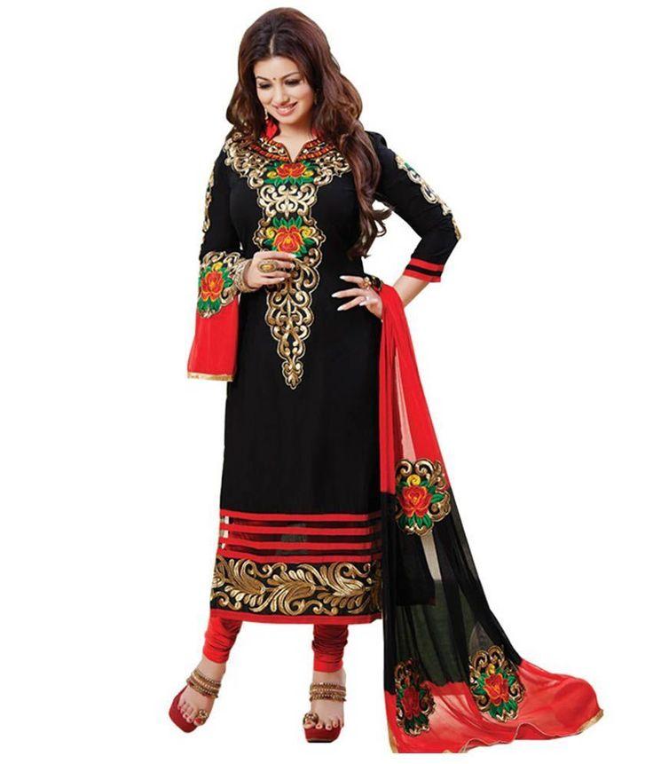 Indian Pakistani Ethnic Anarkali Salwar Kameez Designer Suit Bollywood Dress USA #Indian #SalwarKameez #TraditionalWeddingPartyWearCasual