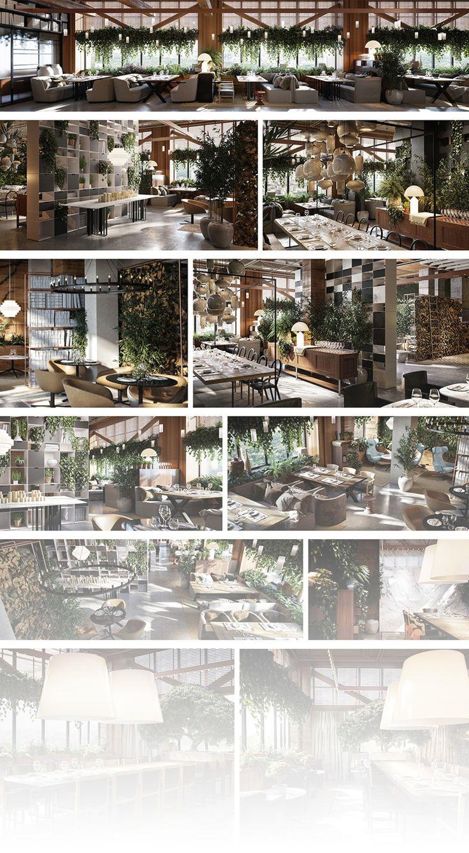 Wooden Showcase Designs For Living Room Lakdi Ka Showcase: Https://www.behance.net/gallery/29504947/Restaurant-in