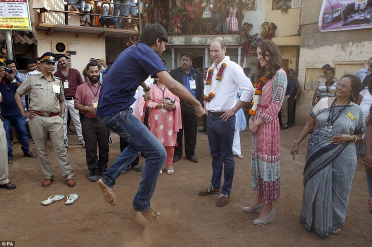He's got moves! Rashly, the Prince, a fan of hip hop, then challenged Siddesh to a hip hop dancing competition. 'Let's see some of your breakdancing moves, he said, before the young dancer launched into an impressive routine, leaping in the air and throwing some shapes
