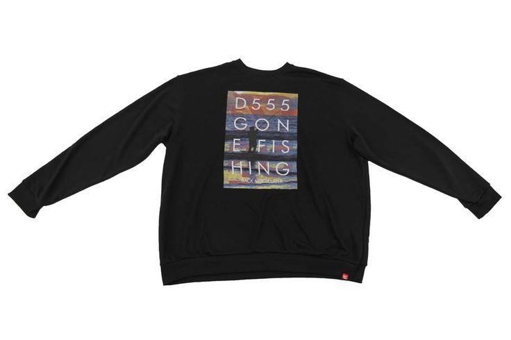 Bluza Duke w kolorze czarnym, z przodu nadruk. Dostępna w rozmiarach: 3XL, 4XL, 5XL, 6XL, 7XL, 8XL. Skład: 35% bawełna 65% poliester.