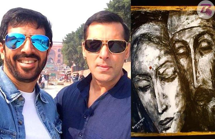 Kabir Khan more than happy to get a paining as gift from Salman Khan