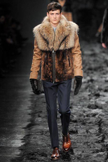 Fendi | Fall 2014 Menswear Collection | Style.com